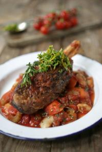 Normans Braised Lamb Shank
