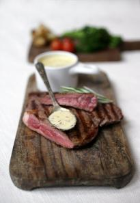 Norman's Creamy Mustard Steak