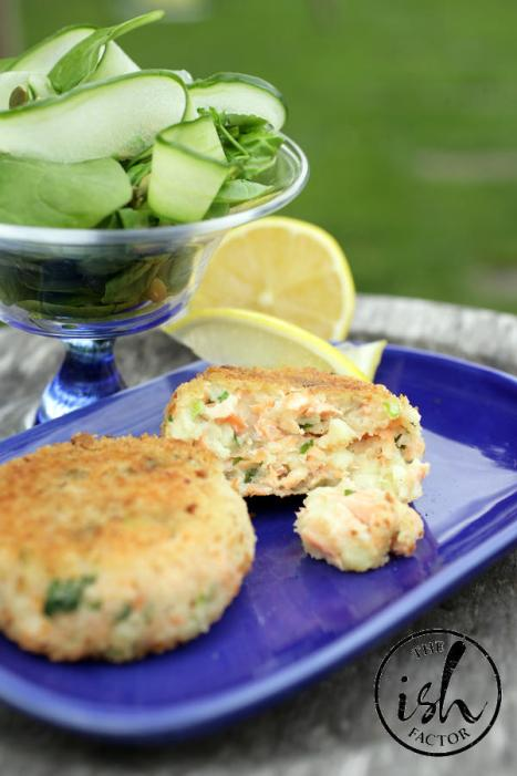 Rozanne fish cakes        Pix Ronan Lang/Feature File